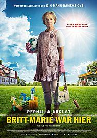 """Filmplakat für """"Britt-Marie war hier"""""""