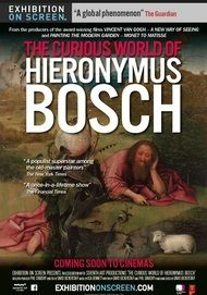 """Movie poster for """"THE CURIOUS WORLD OF HIERONYMUS BOSCH (EHXIBITION ON SCREEN)"""""""