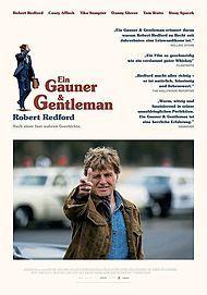"""Filmplakat für """"Ein Gauner & Gentleman - Filmstart für Österreich"""""""