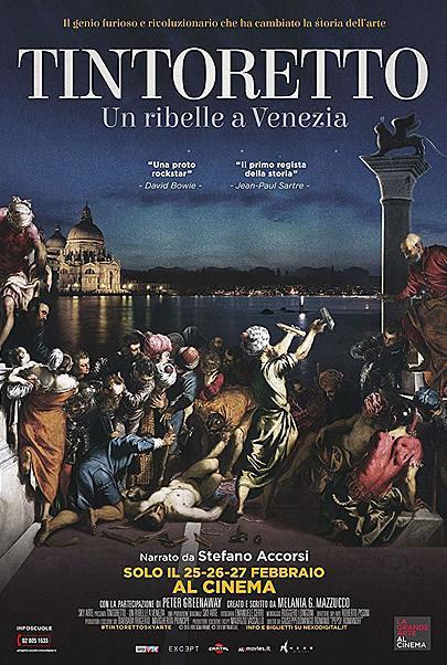 """Movie poster for """"TINTORETTO. UN RIBELLE A VENEZIA"""""""