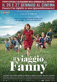 """Movie poster for """"IL VIAGGIO DI FANNY"""""""