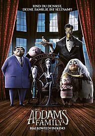 """Filmplakat für """"DIE ADDAMS FAMILY """""""