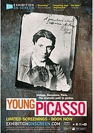 """Movie poster for """"YOUNG PICASSO"""""""