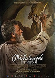 """Movie poster for """"MICHELANGELO - INFINITO"""""""