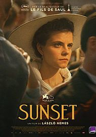 """Movie poster for """"SUNSET"""""""