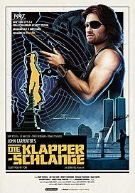 """Filmplakat für """"Die Klapperschlange"""""""
