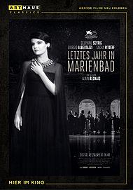 """Filmplakat für """"Letztes Jahr in Marienbad"""""""