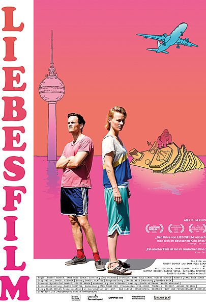 """Filmplakat für """"Liebesfilm"""""""
