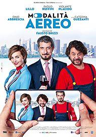 "Movie poster for ""MODALITÀ AEREO"""