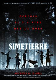 """Movie poster for """"PET SEMATARY"""""""