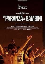 """Movie poster for """"LA PARANZA DEI BAMBINI"""""""