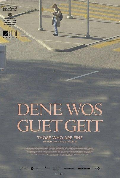 """Movie poster for """"Dene wos guet geit"""""""