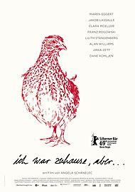 """Movie poster for """"ICH WAR ZUHAUSE, ABER"""""""