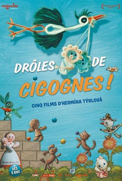"""Movie poster for """"DROLES DE CIGOGNES !"""""""