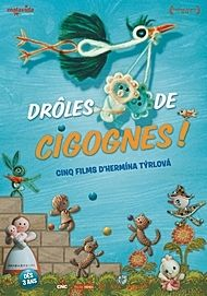 "Movie poster for ""DROLES DE CIGOGNES !"""