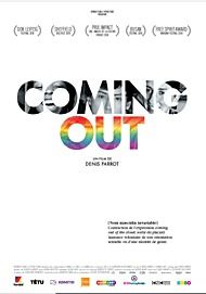 """Movie poster for """"COMING OUT"""""""