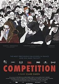 """Movie poster for """"THE COMPETITION"""""""
