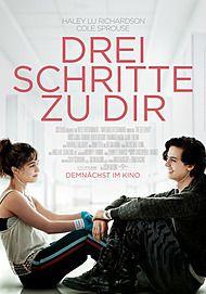 """Filmplakat für """"Drei Schritte zu Dir"""""""