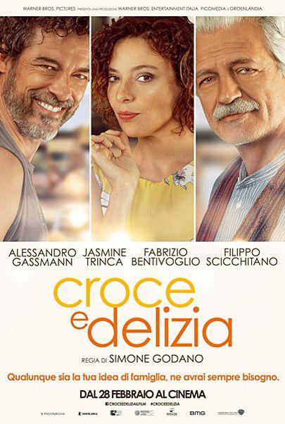 """Movie poster for """"CROCE E DELIZIA"""""""