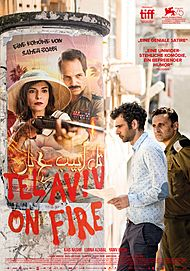 "Movie poster for ""TEL AVIV ON FIRE"""