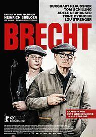 """Filmplakat für """"Brecht"""""""