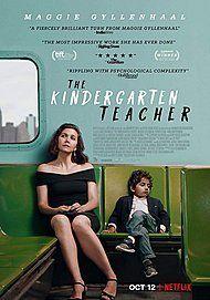 """Movie poster for """"THE KINDERGARTEN TEACHER"""""""