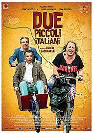 """Movie poster for """"DUE PICCOLI ITALIANI"""""""