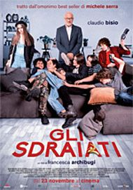 "Movie poster for ""GLI SDRAIATI"""