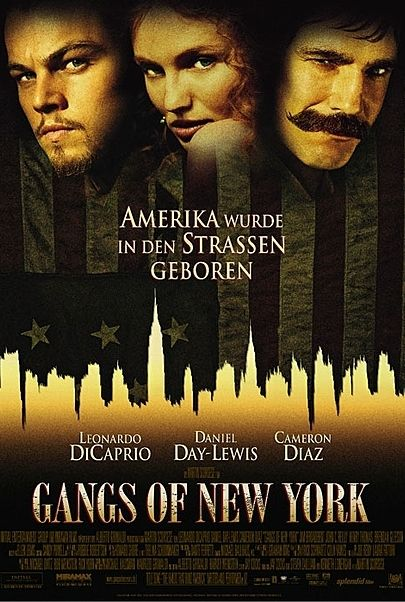 """Movie poster for """"Gangs of New York"""""""