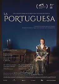 """Movie poster for """"THE PORTUGUESE WOMAN"""""""