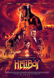 """Movie poster for """"HELLBOY"""""""