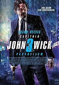 """Movie poster for """"JOHN WICK: CHAPTER 3 - PARABELLUM"""""""