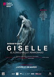 """Movie poster for """"GISELLE - ENGLISH NATIONAL BALLET"""""""