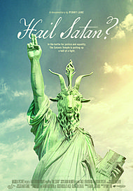 "Movie poster for ""HAIL, SATAN?"""
