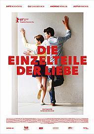 """Filmplakat für """"DIE EINZELTEILE DER LIEBE """""""