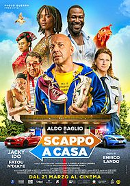 "Movie poster for ""SCAPPO A CASA"""