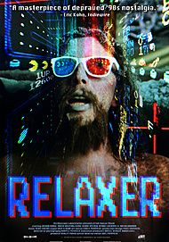 "Movie poster for ""RELAXER"""