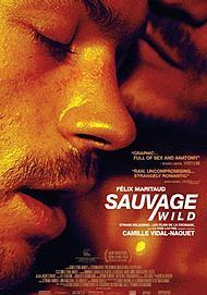"""Movie poster for """"SAUVAGE / WILD"""""""