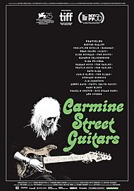 "Movie poster for ""CARMINE STREET GUITARS"""