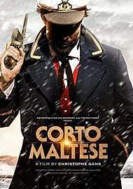 "Affiche du film ""CORTO MALTESE"""