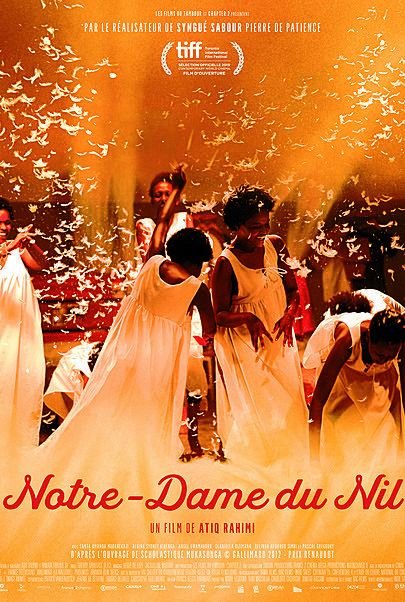 """Movie poster for """"OUR LADY OF THE NILE"""""""