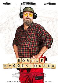 "Movie poster for ""NORSKE BYGGEKLOSSER"""