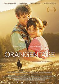 """Filmplakat für """"Orangentage"""""""