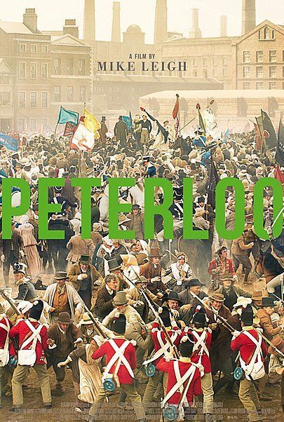 """Movie poster for """"PETERLOO"""""""