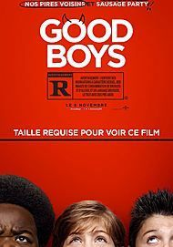 """Movie poster for """"GOOD BOYS"""""""