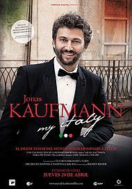 "Movie poster for ""JONAS KAUFMANN - MY ITALY"""