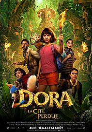 """Movie poster for """"DORA AND THE LOST CITY OF GOLD"""""""
