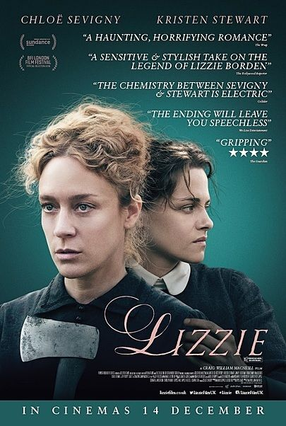 """Movie poster for """"LIZZIE"""""""