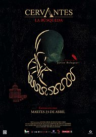 """Movie poster for """"CERVANTES, THE SEARCH"""""""