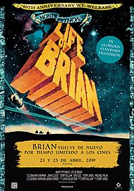 """Movie poster for """"MONTY PYTHON'S LIFE OF BRIAN"""""""